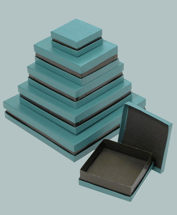 Blue Specialty Neck Boxes