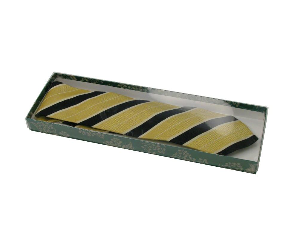 Apparel Boxes - clear vinyl tie box