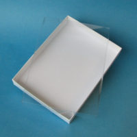 Vinyl boxes - greeting card vinyl boxes