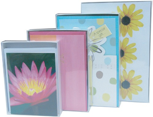 Stationery boxes brimar packaging made in the usa vinyl boxes greeting card m4hsunfo