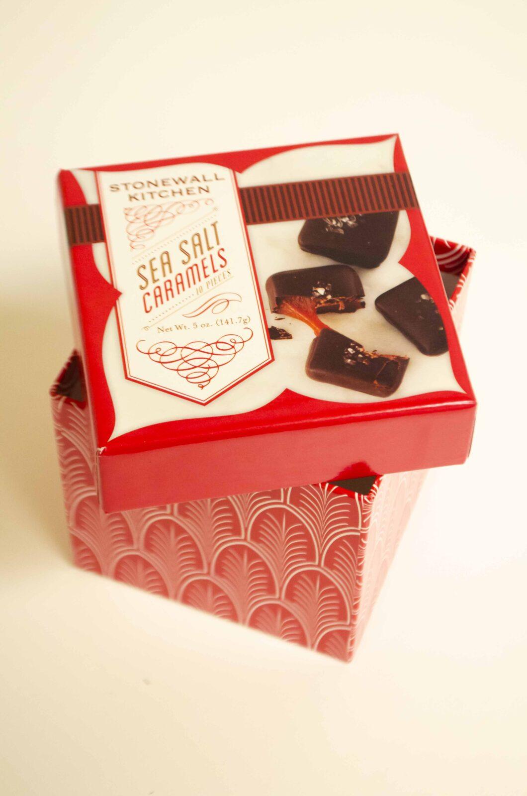 Sea Salt Caramels Candy Boxes