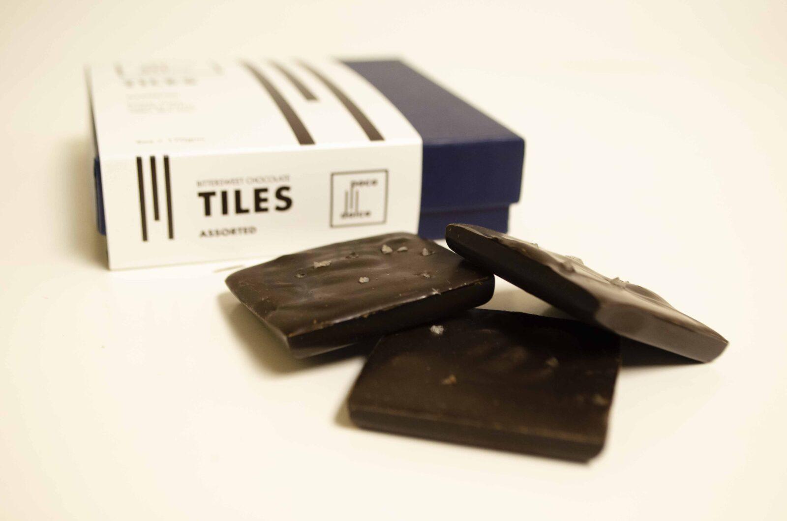 Chocolate Tiles Set Up Box