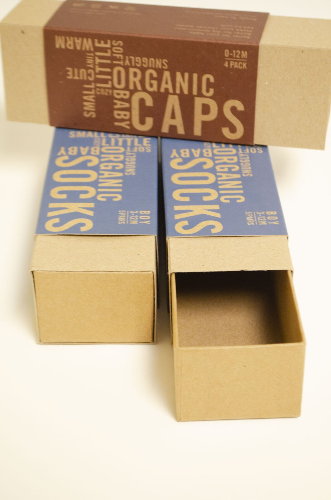 Apparel Boxes - sock boxes