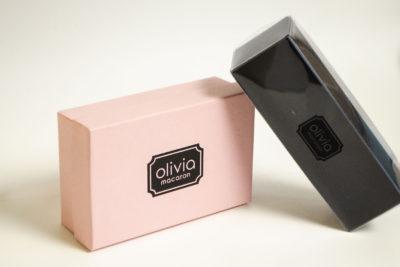 Vinyl boxes - macaron vinyl boxes