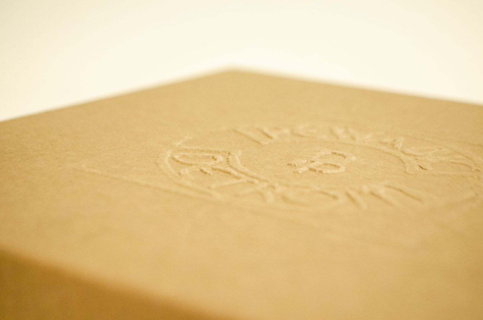 Two Piece Rigid Set Up Boxes - Embossing